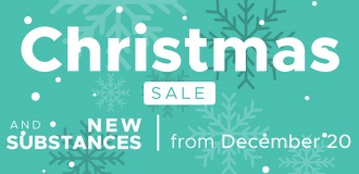 New products and Christmas discounts from December 20